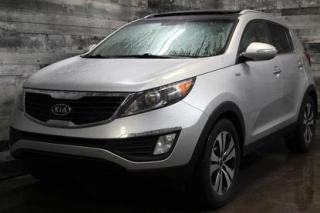 Used 2012 Kia Sportage 4X4,AUTOMATIQUE,CUIR,TOIT PANORAMIQUE,SIÈGE CHAUFF for sale in St-Sulpice, QC