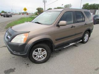 Used 2002 Honda CR-V 4WD EX A/C CRUISE GR ELECT.!!! for sale in Ste-Catherine, QC