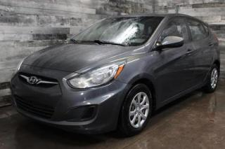 Used 2012 Hyundai Accent AUTOMATIQUE,AIR CLIMATISÉ, GR.ÉLECTRIQUE for sale in St-Sulpice, QC