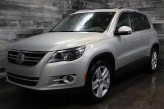 Used 2011 Volkswagen Tiguan 4X4, SIÈGE EN CUIR ET CHAUFFANT, TOIT PANORAMIQUE for sale in St-Sulpice, QC