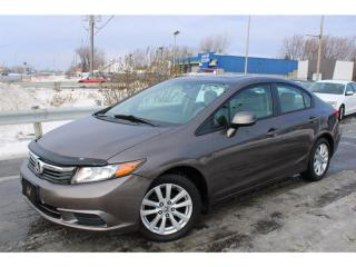 Used 2012 Honda Civic EX A/C BLUETOOTH TOIT OUVRANT!! for sale in Ste-Catherine, QC