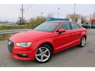 Used 2016 Audi A3 quattro 2.0T Komfort TOIT OUVRANT!! for sale in Ste-Catherine, QC