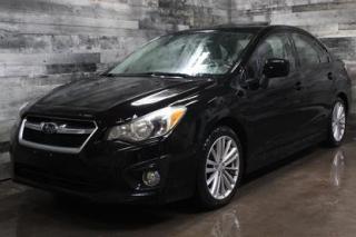 Used 2012 Subaru Impreza MANUELLE, TOIT OUVRANT, BLUETOOTH, SIÈGE CHAUFFANT for sale in St-Sulpice, QC