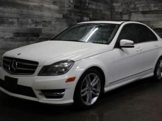 Used 2014 Mercedes-Benz C-Class 4X4, TOIT OUVRANT PANORAMIQUE,SIÈGE EN CUIR ET CHA for sale in St-Sulpice, QC