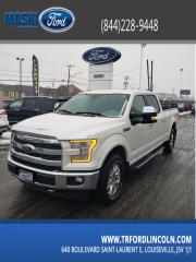 Used 2017 Ford F-150 Cab SuperCrew 4RM 145 po Lariat for sale in Trois-Rivières, QC