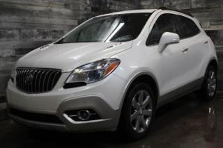 Used 2014 Buick Encore AWD, NAVIGATION,SIÈGE EN CUIR ET CHAUFFANT,TOIT OU for sale in St-Sulpice, QC