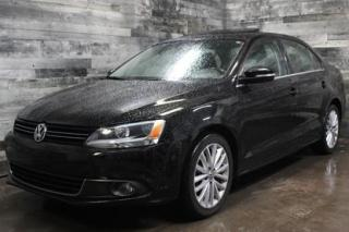 Used 2012 Volkswagen Jetta AUTOMATIQUE, SIÈGE EN CUIR ET CHAUFFANT, TOIT OUVR for sale in St-Sulpice, QC