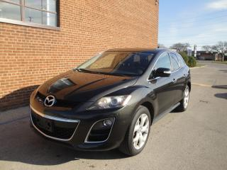 Used 2010 Mazda CX-7 AWD/LEATHER/SUNROOF/BLIND SPOT/BLUETOOTH for sale in Oakville, ON