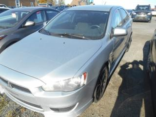 Used 2012 Mitsubishi Lancer SE for sale in Matane, QC