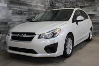 Used 2012 Subaru Impreza 2,0i - MANUELLE, AWD,BLUETOOTH,SIÈGE CHAUFFANT, MA for sale in St-Sulpice, QC