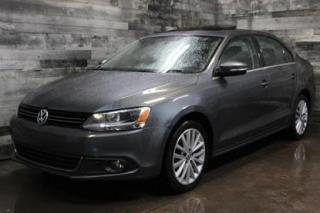 Used 2013 Volkswagen Jetta TDI,AUTOMATIQUE,CUIT,TOIT OUVRANT, BLUETOOTH, MAGS for sale in St-Sulpice, QC