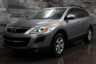 Used 2012 Mazda CX-9 7 PASSAGERS,AWD,CUIR,TOIT OUVRANT,SIÈGE CHAUFFANT for sale in St-Sulpice, QC