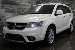 Used 2012 Dodge Journey 7 PASSAGERS, AWD, CUIR, SIÈGE CHAUFFANT, MAGS for sale in St-Sulpice, QC