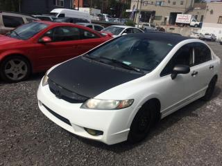 Used 2009 Honda Civic 4DR MAN for sale in Longueuil, QC