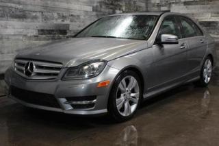 Used 2012 Mercedes-Benz C-Class AUTOMATIQUE, 4X4, TOIT OUVRANT, SIÈGE EN CUIR ET C for sale in St-Sulpice, QC