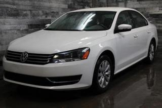 Used 2013 Volkswagen Passat AUTOMATIQUE,BLUETOOTH,SIÈGE CHAUFFANT,MAGS for sale in St-Sulpice, QC
