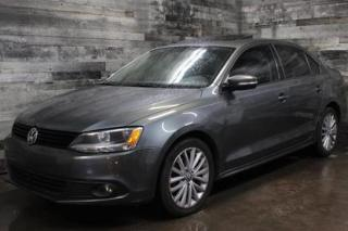 Used 2011 Volkswagen Jetta AUTOMATIQUE, SIÈGE EN CUIR ET CHAUFFANT, BLUETOOTH for sale in St-Sulpice, QC