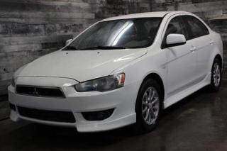 Used 2010 Mitsubishi Lancer MANUELLE, SIÈGE CHAUFANT, VIENT AVEC MAGS for sale in St-Sulpice, QC