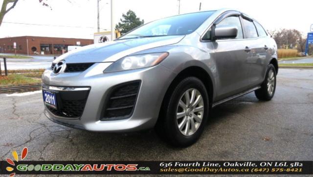 2011 Mazda CX-7 GX|ALLOYS|2YR WARRANTY|AC|CRUISE CONTROL|CERTIFIED