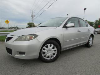 Used 2007 Mazda MAZDA3 MAN. GS CRUISE GR ELECTRIQUE!!! for sale in Ste-Catherine, QC