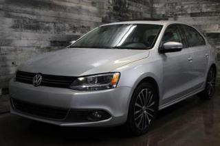 Used 2013 Volkswagen Jetta TDI HGHLINE, AUTOMATIQUE,SIÈGE EN CUIR ET CHAUFFAN for sale in St-Sulpice, QC