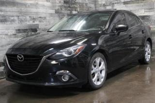 Used 2014 Mazda MAZDA3 AUTOMATIQUE, NAVIGATION, TOIT OUVRANT,SYSTÈME DE S for sale in St-Sulpice, QC