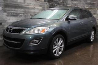 Used 2011 Mazda CX-9 7 PASSAGERS, AWD, NAVIGATION,CUIR,TOIT OUVRANT, CA for sale in St-Sulpice, QC