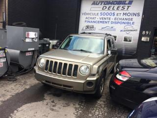 Used 2008 Jeep Patriot 4WD 4dr Sport for sale in Longueuil, QC