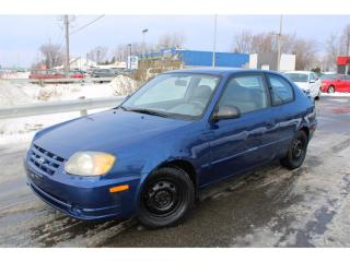 Used 2006 Hyundai Accent MAN. 4CYL 1.6L HATCHBACK!! for sale in Ste-Catherine, QC