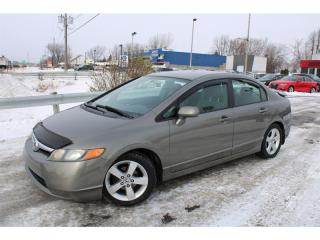 Used 2007 Honda Civic LX MAN. A/C CRUISE MAGS!!! for sale in Ste-Catherine, QC
