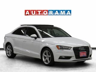 Used 2016 Audi A3 Komfort Pkg Leather Panoramic Sunroof for sale in Toronto, ON