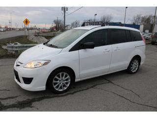 Used 2010 Mazda MAZDA5 GS 6 PASS. PNEUS D'HIVER!! for sale in Ste-Catherine, QC