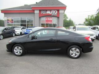 Used 2013 Honda Civic 2dr Auto LX for sale in Notre-Dame-Des-Prairies, QC