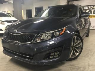 Used 2015 Kia Optima SX TURBO for sale in Montreal, QC