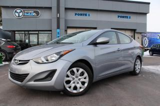 Used 2016 Hyundai Elantra 4DR SDN GL for sale in Beauharnois, QC