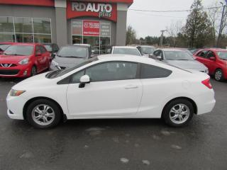 Used 2012 Honda Civic 2dr Auto LX for sale in Notre-Dame-Des-Prairies, QC