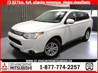 Used 2014 Mitsubishi Outlander 4X4 financement 2.9% 36 mois for sale in St-Hyacinthe, QC