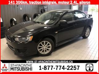 Used 2013 Mitsubishi Lancer AWD 2.4L for sale in St-Hyacinthe, QC