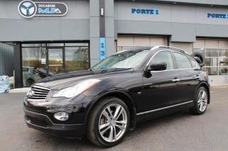 Used 2015 Infiniti QX50 Traction intégrale, 4 portes for sale in Beauharnois, QC