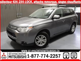 Used 2014 Mitsubishi Outlander 4X4 HITCH for sale in St-Hyacinthe, QC