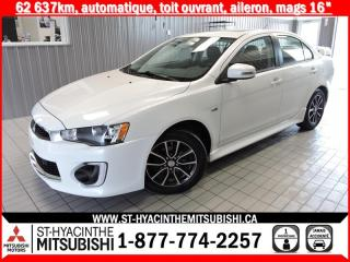 Used 2017 Mitsubishi Lancer financement 2.9% 36 mois for sale in St-Hyacinthe, QC