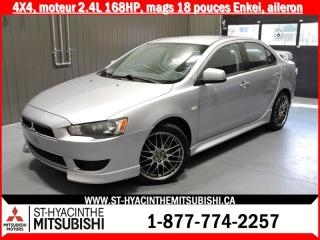 Used 2012 Mitsubishi Lancer AWC 168hp for sale in St-Hyacinthe, QC