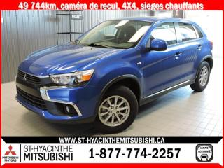 Used 2016 Mitsubishi RVR 4X4 financement 2.9% 36 mois for sale in St-Hyacinthe, QC