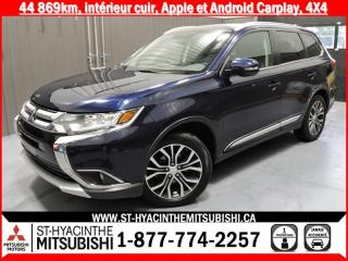 Used 2017 Mitsubishi Outlander PREMIUM AWC financement 2.9% 36 mois for sale in St-Hyacinthe, QC