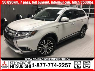 Used 2016 Mitsubishi Outlander S-AWC financement 2.9% 36 mois for sale in St-Hyacinthe, QC
