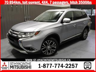 Used 2016 Mitsubishi Outlander AWC financement 2.9% 36 mois for sale in St-Hyacinthe, QC