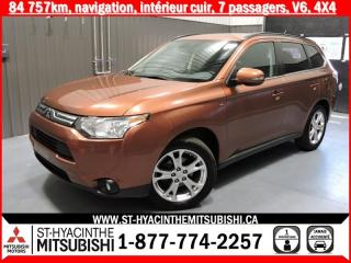 Used 2014 Mitsubishi Outlander NAVI 4X4 financement 2.9% 36 mois for sale in St-Hyacinthe, QC
