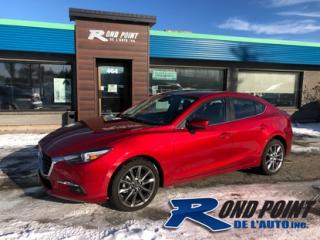 Used 2018 Mazda MAZDA3 Cuir toit for sale in Plessisville, QC