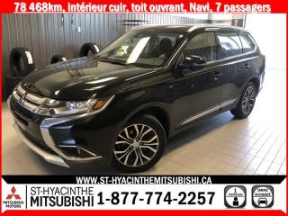 Used 2018 Mitsubishi Outlander S-AWC financement 2.9% 36 mois for sale in St-Hyacinthe, QC