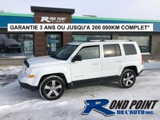 Used 2016 Jeep Patriot Awd cuir toit for sale in Plessisville, QC